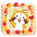 画像 40周年記念!ラスカルのキャラクターケーキが新登場!