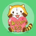 画像 「LINE6周年ありがとうスタンプ」にラスカルが参加!