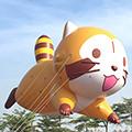 画像 台湾のバルーンパレードイベントに「ラスカルバルーン」が登場!