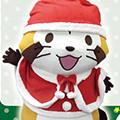画像 「ANi★CUTE」でラスカルのクリスマスグリーティング開催!