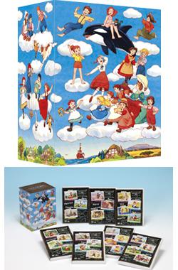世界名作劇場シリーズ 完結版DVDメモリアルボックス 商品画像