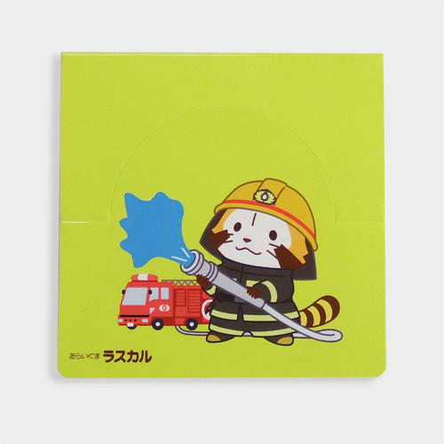 東京消防庁コラボグッズ ラスカル付箋紙 商品画像