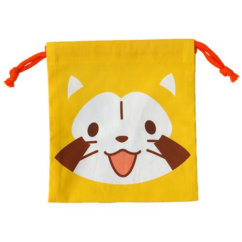 巾着(プチラスカル顔) 商品画像