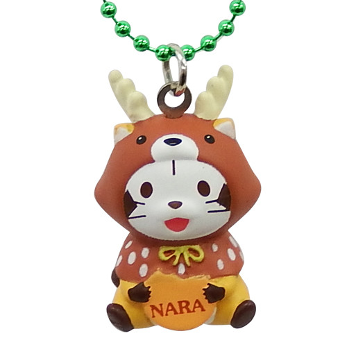 奈良限定「鹿」 ソフビマスコットキーチェーン 商品画像