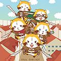 画像 「ラスカル×進撃の巨人」LINE着せかえ第2弾配信!